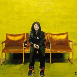 Sitting Self Portrait