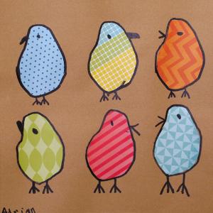 Shaped Birds by Adrian