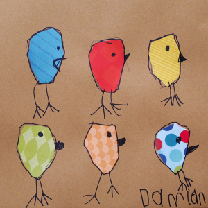 Shaped Birds by Damian